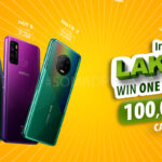 Infinix bring mega discounts with lucky draw for the customers