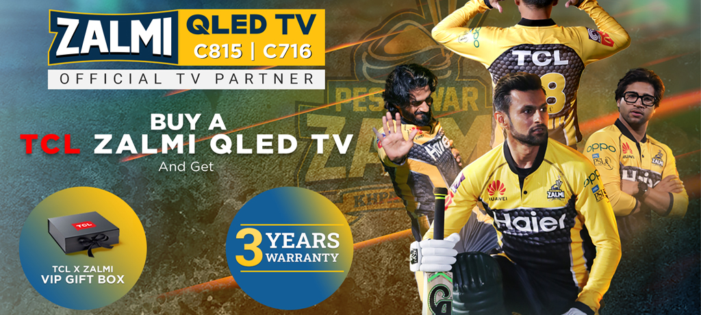 TCL launched a special edition of Zalmi TV
